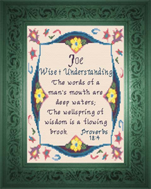 Name Blessings - Joe | Crafting | Cross-Stitch | Other