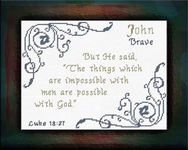 name blessings - john