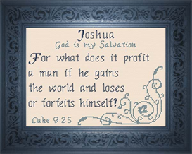 name blessings - joshua