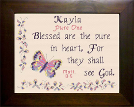 name blessings - kayla
