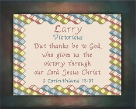 Name Blessings - Larry | Crafting | Cross-Stitch | Other