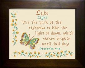 name blessing - luke 3