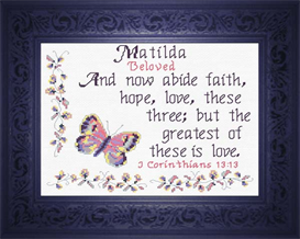 name blessings - matilda