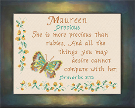 name blessings - maureen