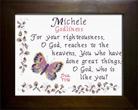 name blessing - michele