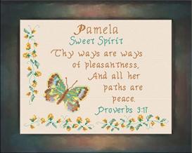 name blessings - pamela