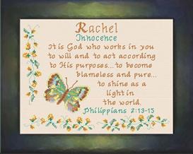name blessings - rachel2