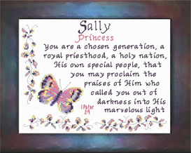 name blessings - sally