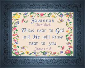 name blessings - savannah