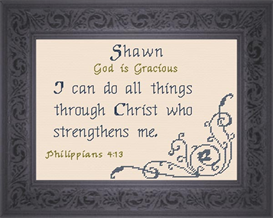 Name Blessing - Shawn | Crafting | Cross-Stitch | Other