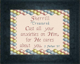 Name Blessing - Sherrill | Crafting | Cross-Stitch | Other