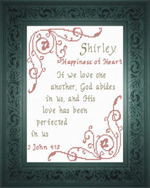 name blessings - shirley