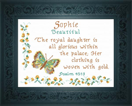 Name Blessing - Sophie | Crafting | Cross-Stitch | Other