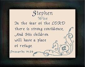 name blessing - stephen
