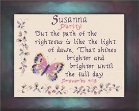 name blessings - susanna