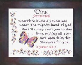 Name Blessings - Tina | Crafting | Cross-Stitch | Other