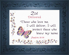 name blessings - zoe