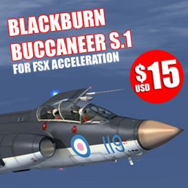 FSX_Buccaneer_S1_pack | Software | Games