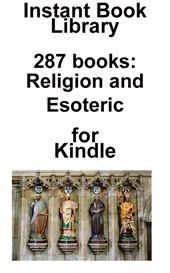 287 religious & esoteric books for kindle