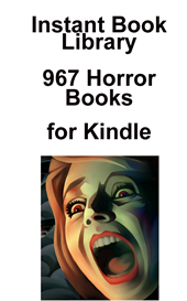 967 horror books for kindle