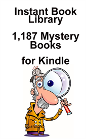 1,187 mystery books for kindle