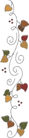Cherry Vine machine embroidery file | Crafting | Sewing | Kitchen