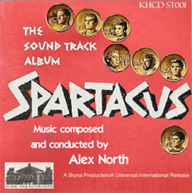spartacus soundtrack - alex north (1960)