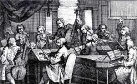 Barsanti : Overture in G minor, Op. 4 no. 8 : Violin I   Music   Classical