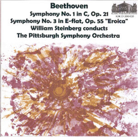 beethoven: symphony no. 1 in c, op. 21; symphony no. 3 in e-flat eroica