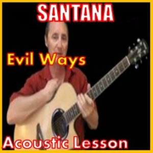 Learn to play Evil Ways by Santana | Movies and Videos | Educational