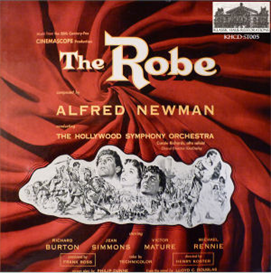 newman: the robe (1953) - soundtrack to the 20th century fox cinemascope production