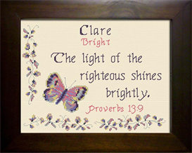 name blessings - clare