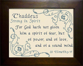name blessings - thaddeus