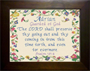 Name Blessings - Adrian | Crafting | Cross-Stitch | Religious