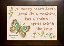 merry heart - proverbs 17:22