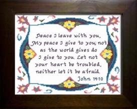 peace - john 14:10