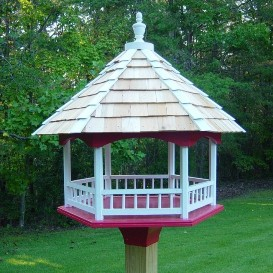 platform gazebo bird feeder