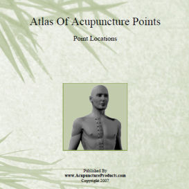 acupuncture point locations