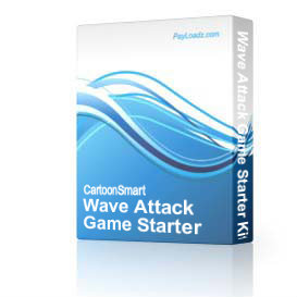 Wave Attack Game Starter Kit - Developer License | Software | Software Templates
