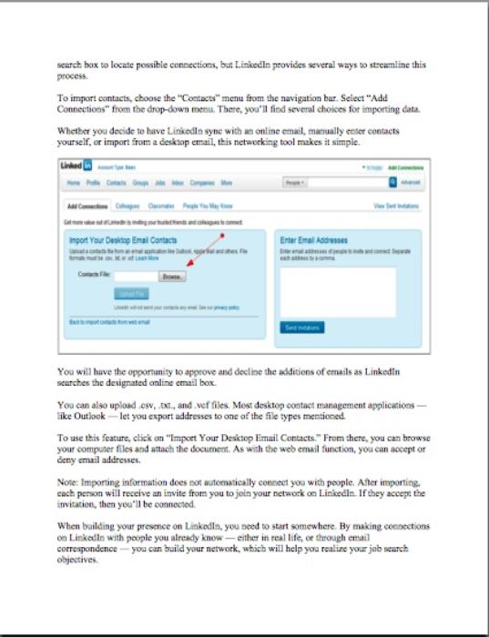 Third Additional product image for - Getting Started with LinkedIn (Pass-Along Materials) - - 2013 EDITION
