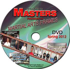 2012 spring issue of martial arts frames