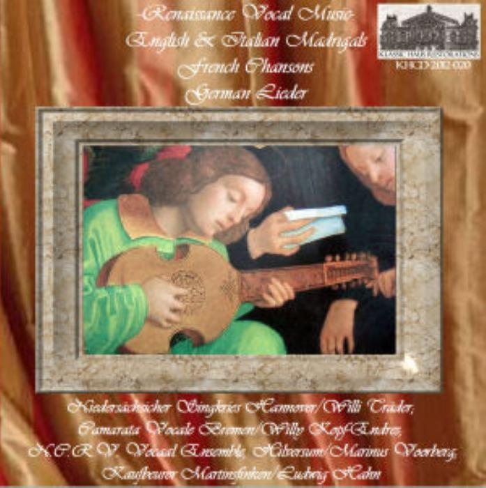 Second Additional product image for - Renaissance Vocal Music - English and Italian Madrigals, French Chansons, and German Lieder