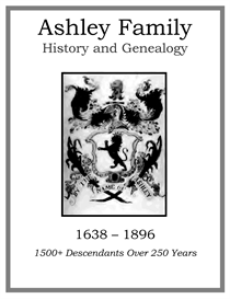 ashley family history and genealogy