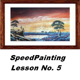 Speed Painting Lesson No.5 | Movies and Videos | Arts