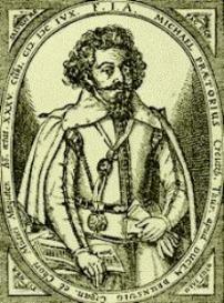 praetorius : resonet in laudibus a 7 : printable cover page