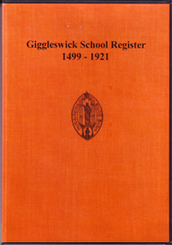 giggleswick school register 1499 - 1921