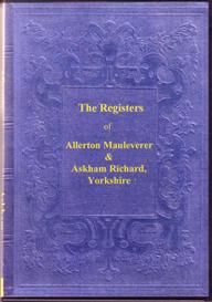 parish registers of allerton mauleverer & of askham richard