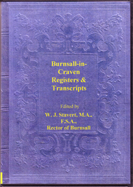 parish registers and transcripts for the parish of burnsall-in-craven, in yorkshire