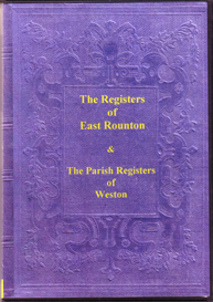 the registers of the chapelry of east rounton in the parish of rudby