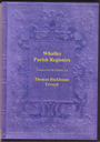 Registers of Parish Church of Whalley 1538-1601 | eBooks | Reference